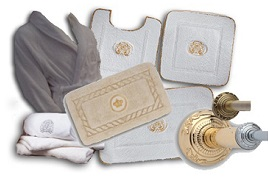 Карнизы и текстиль для ванной