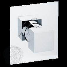 Девиатор поворотный скрытого монтажа 4 позиционный Migliore Kvant ML.KVT-2728.CR