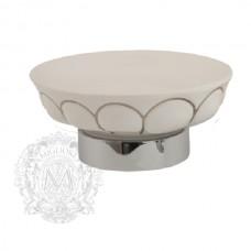 Mыльница настольная керамика Migliore Olivia ML.OLV-60.611.BP.CR
