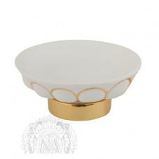 Mыльница настольная керамика Migliore Olivia ML.OLV-60.611.BO.DO