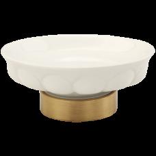 Mыльница настольная керамика Migliore Olivia ML.OLV-60.611.BI.CR