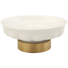 Mыльница настольная керамика Migliore Olivia ML.OLV-60.611.BI.BR