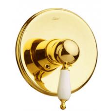 Смеситель встроенный Boheme Tradizionale Oro золото-керамика 285