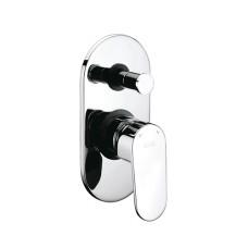 Смеситель WASSERKRAFT donau 5361 для ванны и душа, хром