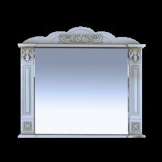 Misty Барокко -100 Зеркало белое патина