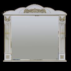 Misty Барокко -120 Зеркало белая патина