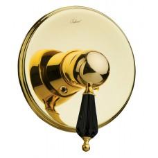 Смеситель встроенный Boheme Tradizionale Nero золото-swarovski black 255
