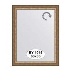 Зеркало в багетной раме (66х86 см) (Evoform) старая бронза BY 1015