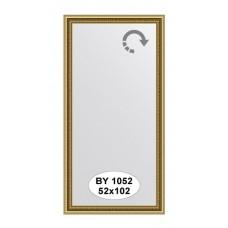 Зеркало в багетной раме (52х102 см) (Evoform) золото BY 1052