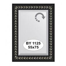 Зеркало в багетной раме  (55х75 см) (Evoform) черный ардеко BY 1125