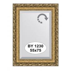 Зеркало в багетной раме  (55х75 см) (Evoform) виньетка бронзовая BY 1230