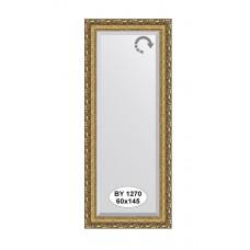 Зеркало в багетной раме  (60х145 см) (Evoform) виньетка бронзовая BY 1270