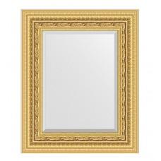 Зеркало в багетной раме (45х55см) (Evoform) сусальное золото BY 1366