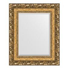 Зеркало в багетной раме (46х56см) (Evoform) виньетка бронзовая BY 1372