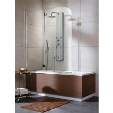 Двустворчатая шторка для ванны Radaway EOS PND 130/R 205202-101 1300*1520