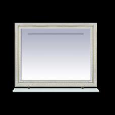 Misty Fresko -120 Зеркало с пол. Краколет белый патина