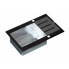 Мойка ZorG inox-glass GL-7851-BLACK