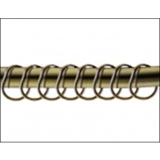 Набор колец для шторы Monterno 12 шт HK-12-Bronze