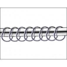 Набор колец для шторы Monterno 12 шт HK-12 chrome