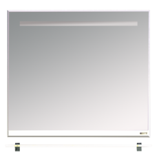 Misty Джулия - 90 Зеркало  с  полочкой 12 мм белое