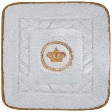 Коврик для ванной с вышивкой Migliore Complementi 60х60 ML.COM-50.060.BI.24