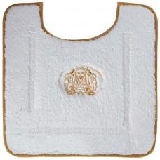 Коврик для ванной с вышивкой Migliore Complementi 60х60 ML.COM-50.PWC.BI.61