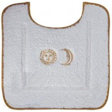 Коврик для ванной с вышивкой Migliore Complementi 60х60 ML.COM-50.PWC.BI.62