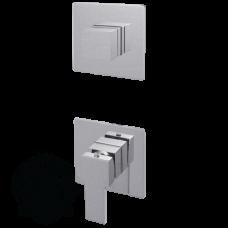 Смеситель для ванны скрытого монтажа Migliore Kvant ML.KVT-2731.CR