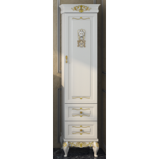 Bianco - Пенал 40 белый  сусальное золото