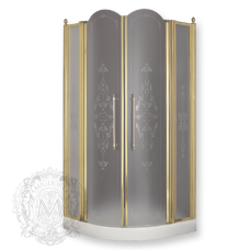 Душевой уголок Migliore Diadema 90х90 ML.DDM-22.690.ST.BR