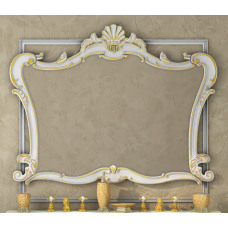 Bianco - 90 Зеркало бежевое сусальное золото