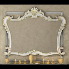 Misty Bianco -100 Зеркало белое сусальное золото