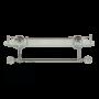 Полка c галереей  60 см Migliore Cristalia Swarovski ML.CRS-60.220.CR sw