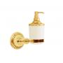 Дозатор настенный Boheme Hermitage Gold 10367